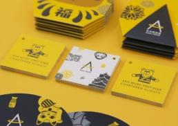 Asia Miles   Let's Go Osaka   print design