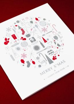 The Excelsior Hotel | Christmas brochure design