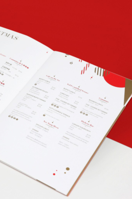 The Excelsior Hotel | Christmas brochure design
