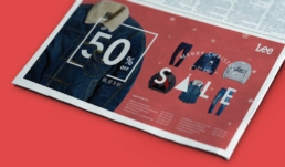 Lee Jeans | Christmas promotion advertisement design