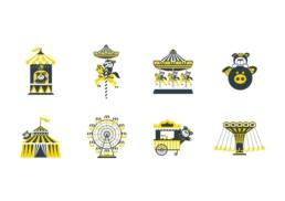 Asia Miles | Carnival Day | icon design