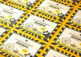 Asia Miles | Carnival Day | print design
