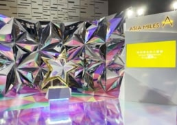 Asia Miles | Annual Members' Choice 2019 Awards | booth & set design