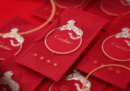Cartier | Chinese New Year 2020 | red packet design