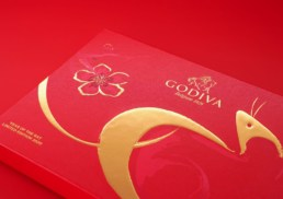 Godiva | Chinese New Year 2020 | packaging design