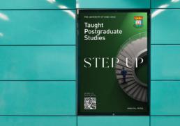 HKU | Taught Postgraduate Studies | key visual design