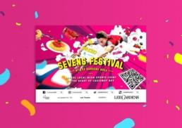 Lee Gardens | Sevens Festival | key visual