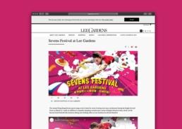 Lee Gardens | Sevens Festival | web banner