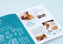 IFC Mall | Dining Guide | food photography, illustration & brochure design
