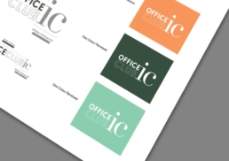 IFC Mall | Office Club ic | visual identity design