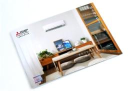 Mitsubishi Electric | GS series air-conditioner | print design