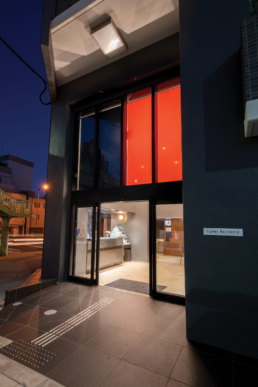 Popway Residence Tennoji | Brand Identity Planning & Design | exterior graphic design & design direction