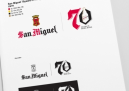 San Miguel | 70 Years in Hong Kong | Logo design & brand guidelines
