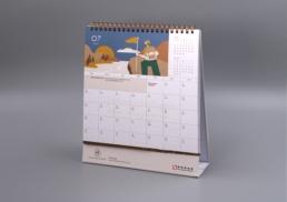 Signature Homes by SHKP | Brand Identity | calendar design
